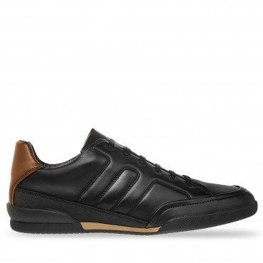 SNEAKER CASUAL LOEB COLOR NEGRO TAN