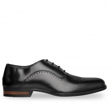 ZAPATO DE VESTIR POTTER ESTILO OXFORD COLOR NEGRO