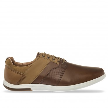 SNEAKER IMPACT COLOR TAN CAMEL