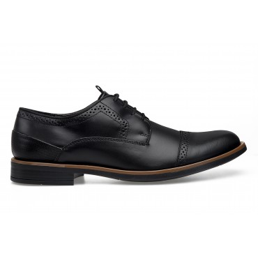 ZAPATO DE VESTIR PALERMO OXFORD COLOR NEGRO