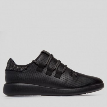 Sneaker Light Negro y Gris Ultraligero Confort Plus